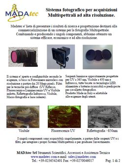 Multispectral system low cost